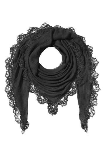 Faliero Sarti Faliero Sarti Scarf With Silk, Cashmere And Lace
