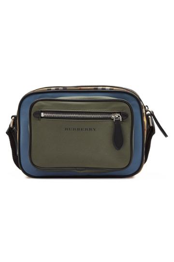 Burberry Burberry Colorblock Vintage Check Crossbody Bag