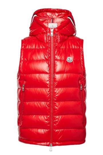 Moncler Moncler Lanoux Down Vest With Hood