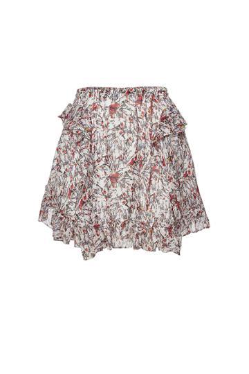 Iro Iro Tide Floral Mini Skirt