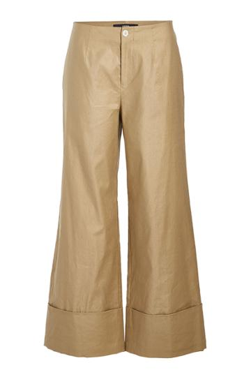 Steffen Schraut Steffen Schraut Cuffed Pants With Cotton And Linen