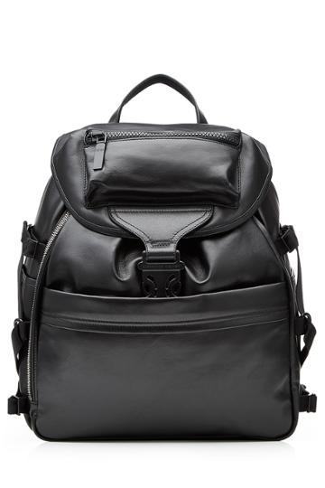 Alexander Mcqueen Alexander Mcqueen Leather Backpack - Black