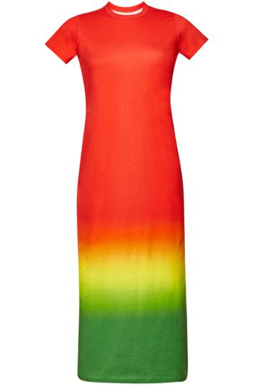 Paco Rabanne Paco Rabanne Printed T-shirt Dress