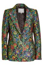 3.1 Phillip Lim 3.1 Phillip Lim Embroidered Blazer With Silk