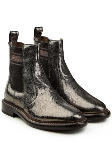 Brunello Cucinelli Brunello Cucinelli Leather Chelsea Boots