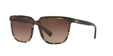 Ralph 58 Tortoise Square Sunglasses - Ra5214