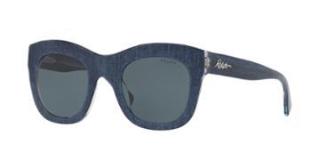 Ralph 49 Blue Square Sunglasses - Ra5225