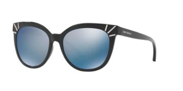 Tory Burch 56 Black Cat-eye Sunglasses - Ty9051