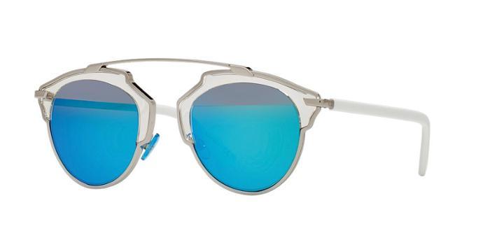 Dior Silver Round Sunglasses - Soreal