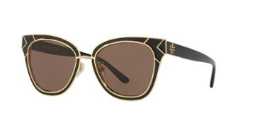 Tory Burch 53 Black Square Sunglasses - Ty6061