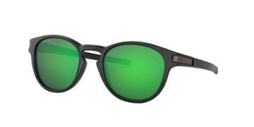 Oakley 53 Latch Black Matte Oval Sunglasses - Oo9265