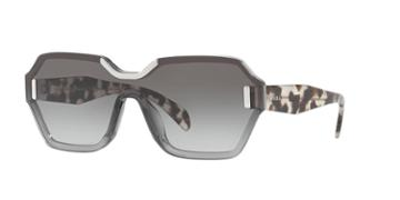 Prada Pr 15ts 48 Grey Square Sunglasses