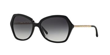 Burberry Black Square Sunglasses - Be4193