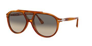 Persol 59 Brown Pilot Sunglasses - Po3217s