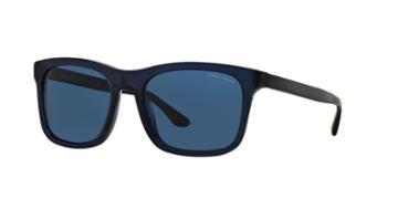 Giorgio Armani Ar8066f 56 Blue Square Sunglasses