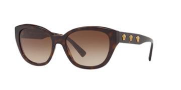 Versace 56 Tortoise Butterfly Sunglasses - Ve4343