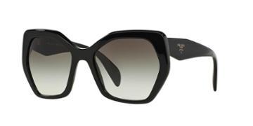 Prada Pr 16rs 56 Black Square Sunglasses