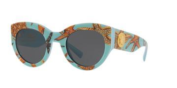Versace 51 Blue Wrap Sunglasses - Ve4353
