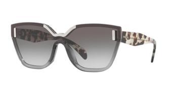 Prada Pr 16ts 48 Grey Square Sunglasses