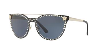 Versace 45 Gold Shield Sunglasses - Ve2177