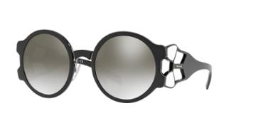 Prada Pr 13us 54 Black Wrap Sunglasses