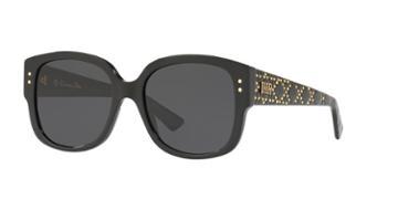 Dior Ladydiorstuds 54 Black Cat-eye Sunglasses