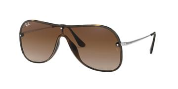 Ray-ban 38 Brown Wrap Sunglasses - Rb4311n