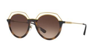 Tory Burch 51 Tortoise Square Sunglasses - Ty9052