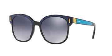 Prada Pr 05us 53 Blue Square Sunglasses