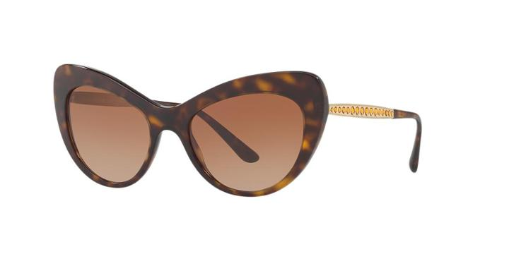 Dolce & Gabbana Dg4307b Tortoise Cat-eye Sunglasses