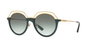 Tory Burch 51 Green Square Sunglasses - Ty9052
