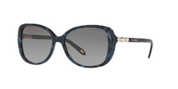 Tiffany & Co. 55 Blue Rectangle Sunglasses - Tf4121b