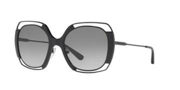Tory Burch 54 Black Rectangle Sunglasses - Ty6059