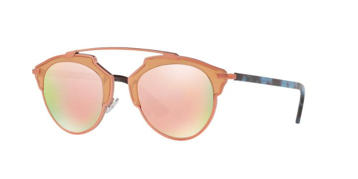 Dior So Real Pink Pilot Sunglasses