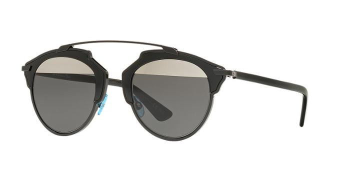 Dior Black Square Sunglasses - So Real