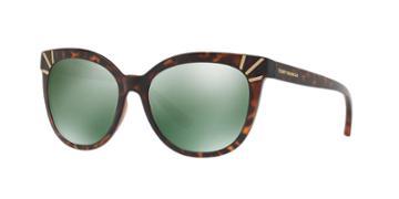 Tory Burch 56 Tortoise Cat-eye Sunglasses - Ty9051