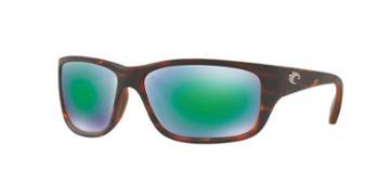 Costa Del Mar Tasman 63 Tortoise Matte Wrap Sunglasses