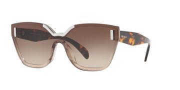 Prada Pr 16ts 48 Brown Square Sunglasses