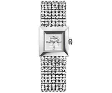 Swarovski Swarovski Elis Mini Mesh Watch White Stainless Steel
