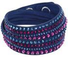 Swarovski Swarovski Slake Dark Blue Deluxe Bracelet