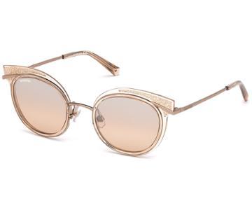 Swarovski Swarovski Swarovski Sunglasses, Sk0169 - 72g, Peach