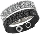 Swarovski Swarovski Crystal Rock Bracelet Set Dark Multi