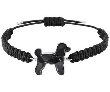 Swarovski Swarovski Pets Pudel Bracelet, Black, Rhodium Plating Black Rhodium-plated