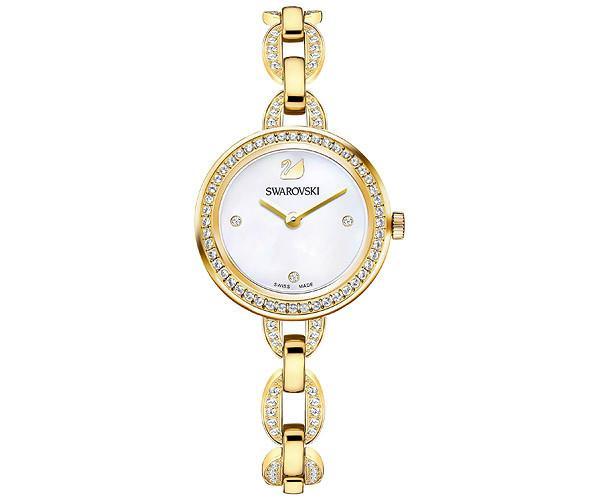 Swarovski Swarovski Aila Mini Watch, Gold Tone White Gold-plated