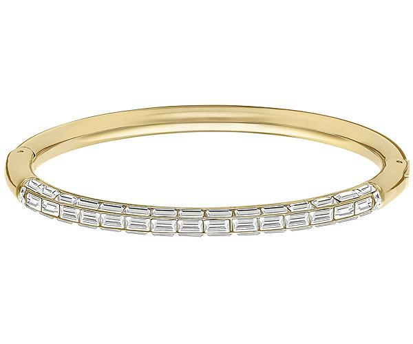 Swarovski Swarovski Domino Bangle White Gold-plated