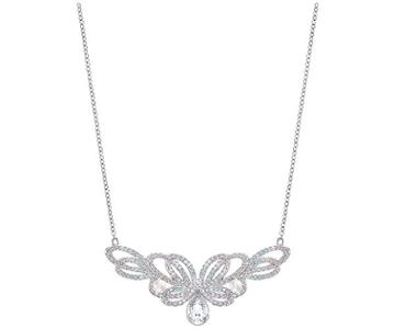 Swarovski Swarovski Escape Medium Necklace Light Multi Rhodium-plated