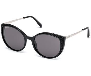 Swarovski Swarovski Swarovski Sunglasses, Sk0168 - 01a, Black