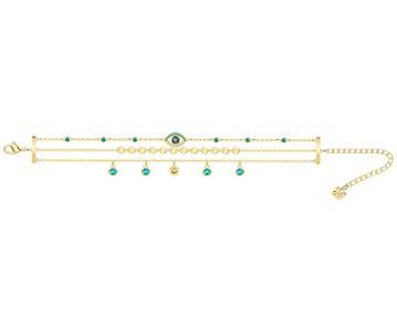 Swarovski Swarovski Last Summer Bracelet, Multi-colored, Gold Plating Light Multi Gold-plated