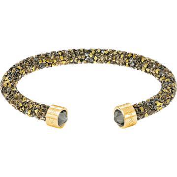 Swarovski Crystaldust Cuff, Golden, Gold Plating