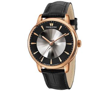 Swarovski Swarovski Atlantis Limited Edition Automatic Men's Watch, Black Gray Rose Gold-plated